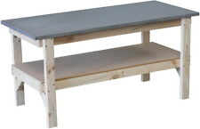 Work bench 1800 x 800mm with steel laminated bench top