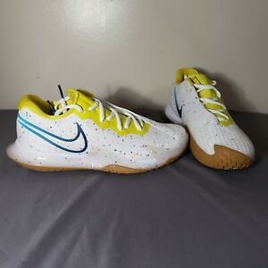 Nike Air Zoom Vapor Cage 4 Hard Court White Tennis Shoes New Sz 8 CD0431-107