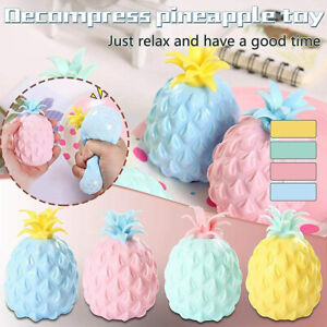 Pineapple Ball Anti Stress Squeeze Balls Fidget Sensory Toys Anxiety Reliever##