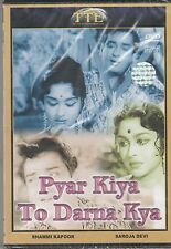 Pyar Kiya to darna Kya - shammi kapoor ,saroja Devi  [Dvd]1st Edition  Released