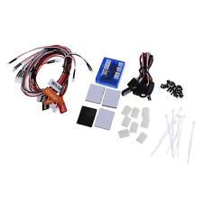 12 LED RC Car Lighting Kit Realistic Flashing Light System for RC 1/10 Car