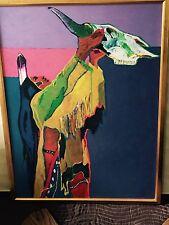 """Prayer for the Return of the Buffalo"" by John Nieto, Giclee on Canvas, AP"