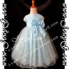 Vêtements bleus habillés pour fille de 2 à 3 ans
