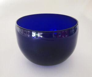 FABULOUS BRISTOL BLUE GLASS FINGER BOWL, Circa 1820