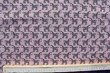 Baumwollstoff, Baumwolldruck, S&W Stoffe, Serie Zebra, rosa, Restposten