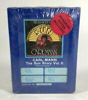 Carl Mann - Sun Records Story Vol. 6 Rockabilly 8 track tape SEALED 1977