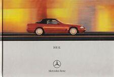 MERCEDES SL R129 280 320 500 600 Prospekt Buch Hardcover Car Sales Brochure 2000