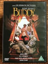 Rene Russo BUDDY | 1997 Jim Henson Gorilla Fantasy Film ~ UK DVD