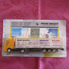 Truck Advertising for Transports Franz Bracht/Packaging Original
