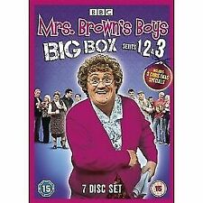 Mrs Browns Boys Complete Series Season 1 2 3 Christmas Special DVD Brown's 1-3