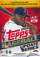 2016 Topps UPDATE Baseball EXCLUSIVE Factory Sealed HUGE Blaster Box-Medallion
