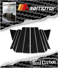 Real Carbon Fiber Door Pillar Panel Covers Set 10pc for 2003-2008 Infiniti FX35
