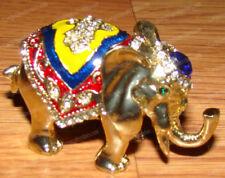 Emerald Green Eyes, African Elephant Box (Wildlife, 3206) Australian Crystals