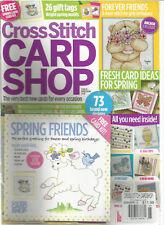 Punto de Cruz Tarjeta Tienda GB Revista #95 Marzo/Abril 2014 Con / Gratis Kit