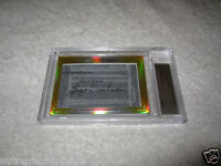 Byron Nelson Ken Venturi 2014 Leaf Cut Signature 1/1 signed autograph card JSA