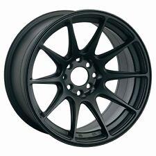 17X8.25 XXR 527 5X100 FLAT BLACK WHEEL FITS AUDI TT VW JETTA GOLF PASSAT BEETLE