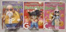 Dragon Ball : Goku, ChiChi, Master Roshi Figure set Banpresto 2008