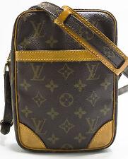 Louis Vuitton Monogram DANUBE Bag Tasche Messenger Umhängetasche Elegant Rare 1