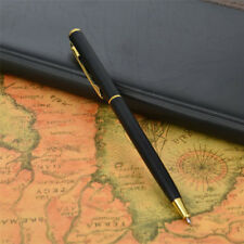 Pen Office Ballpoint Writing Pens Stationery Study School Supplies Black Gold