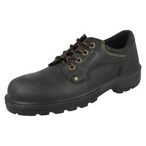 Hombre Totectors Puntera de Acero con Cordones Zapato de Seguridad 3987