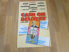 Bradley WALSH & Brian MURPHY in CASH on DELIVERY Whitehall Theatre Poster