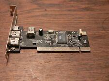 4port Firewire IEEE1394 PCI-Controller