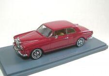 Neo Scale Models Neo44185 Rolls Royce Corniche 1971-77 Dark Red 1 43 Modellino