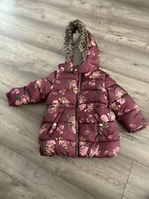 Primark Girls Winter Jacket  Coat 18-24 Mounts 92 Cm Height
