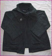 NINTH MOON MATERNITY CARDI JUMPER Cowl Neck Swing WARM & SOFT Grey or Black NEW