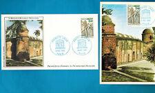 1986-Fdc.Cp+Enveloppe 1°Jour-Unesco-Mosquée de Bagerhat-Bangladesh-Timbre.Yv.92