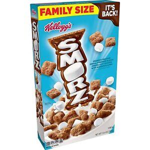 Kellogg's Smorz Original Breakfast Cereal, 13.40 Oz Family Size It's Back!