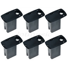 6p Active Acoustic Guitar Bass Electronics Preamp 9V Battery Holder Case