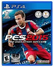 PES 2015: Pro Evolution Soccer 2015 (Sony PlayStation 4, PS4), Brand New