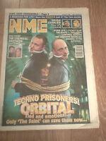 NME MAGAZINE / NEWSPAPER APRIL 19TH 1997 ORBITAL FATBOY SLIM THE ROOTS WARM JETS