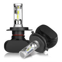 2x H4 HB2 9003 Cree CSP LED Scheinwerferlampe 140W Einzelstrahl 21000LM Weiß