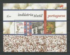 PORTUGAL PORTUGUESE TEXTILE INDUSTRY MNH SOUVENIR SHEET 2017