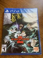 Ps4 sony playstation 4 My Hero One's Justice 2 Brand New Sealed Ready to Ship!