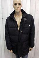 FAY Uomo Taglia XL Giubbotto Blu Parka Invernale Giacca Giubbino Giaccone Jacket