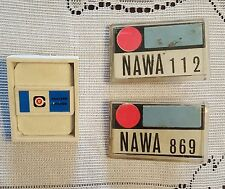 Lot of 3 Personal Radiation Detection Film Badges Nevada Test Site Los Alamos