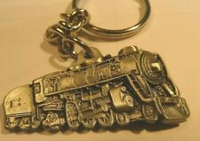 steam locomotive key chain