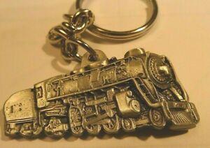 steam locomotive key chain