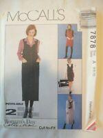 Vintage 1995 Sewing Pattern Jumper & Blouse Sizes 6-8-10 Uncut