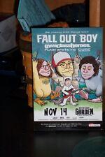 5 Fall Out Boy Handbills Rare