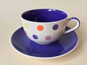 Whittard of Chelsea Tulip Spot Breakfast Cup & Saucer
