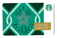 Starbucks collectible gift card no value mint #173 Green Star