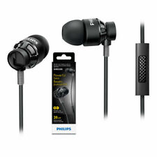 Philips SHE5205 Dj Style Powerful Bass In-ear Headphones with Mic (New Sealed)