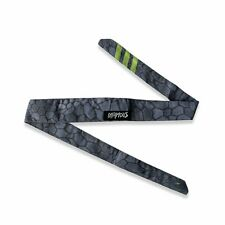 Team Infamous Pro Dna Headband paintball Headband Made In Usa - Hex Ghost Grey