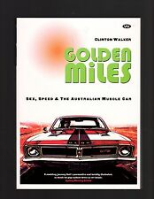Golden Miles by Clinton Walker Paperback Book
