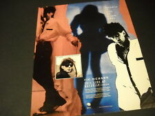 Ric Ocasek The Cars Paradise Is Only An Album Away 1986 Promo Poster Ad