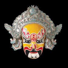 Oriental Asian Chinese Mask Wall Sculpture